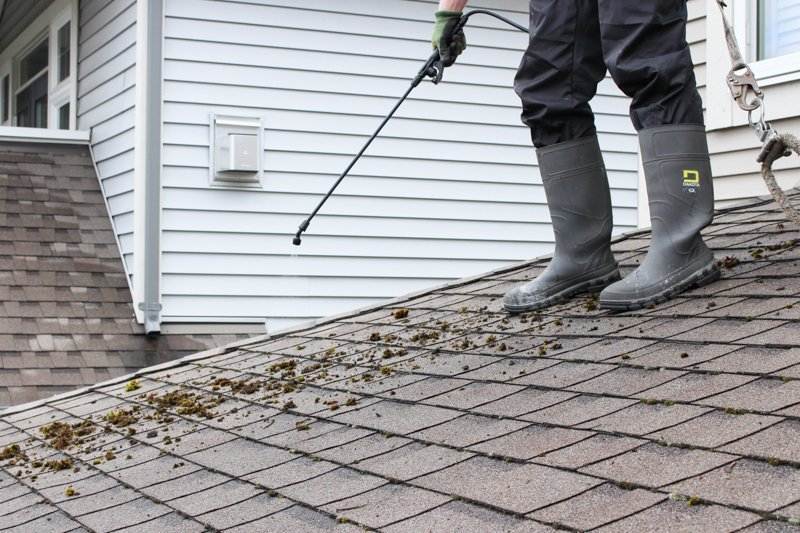 roof power washing moss killer - How To Kill Moss On Roof